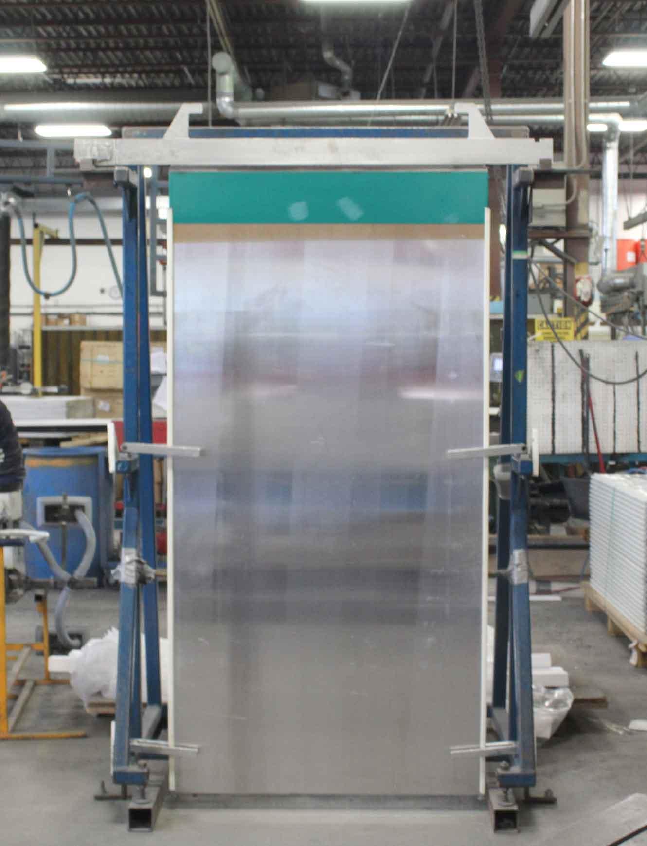 Aluminum Cathoden hanging for inspection