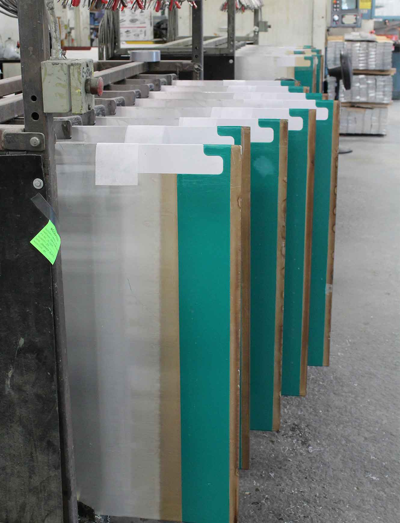 Aluminum Cathodes Packed For Shipping