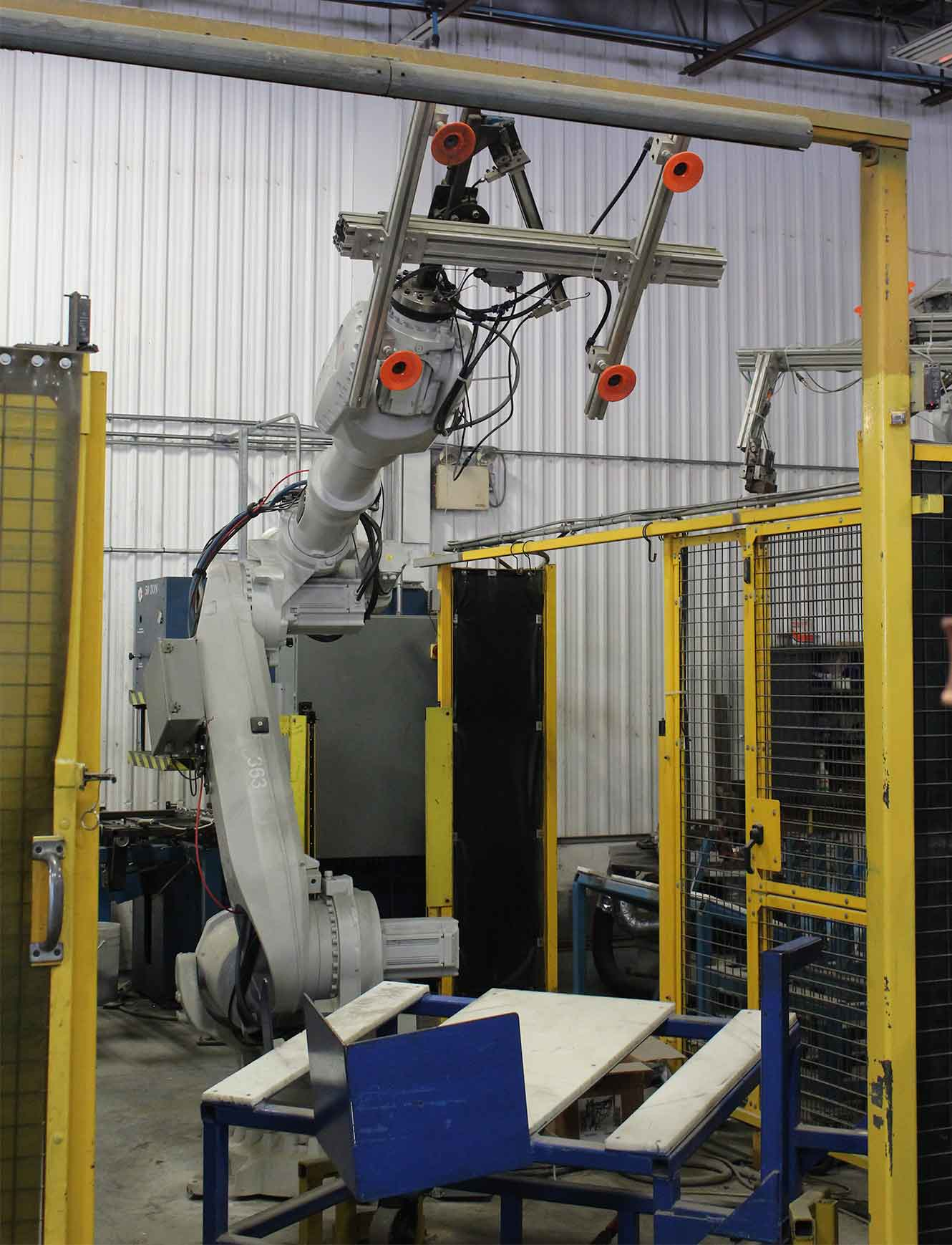 Material Handling For Robotic Weld Cell