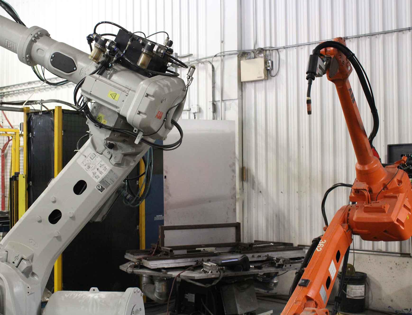 Robotic Welder For SST Cell